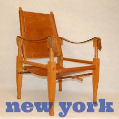 New York's Finest: Safari Chair, Bicycle & Lucite Chair — Daily Classifieds