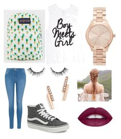 """""""Boy meets girl"""" by fnmilfor ❤ liked on Polyvore featuring Michael Kors, George, Vans, JanSport and ZoÃ« Chicco"""