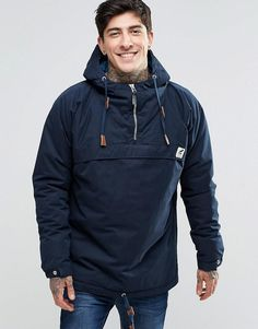 Fat Moose | Fat Moose Sailor Overhead Jacket Quilted Lining at ASOS