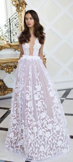 Wedding dress idea; Featured: Nurit Hen