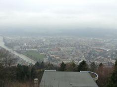 Hungerberg Mtn. -- Innsbruck, Austria (top of one peak), November 2013