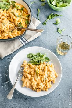A Vegan Mac and Cheese that you don't need to feel guilty about! This healthy mac and cheese contains hidden veggies but it is so creamy and delicious that you'd never know. And it's ready in under 30 minutes from start to finish!