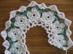 Crochet Pattern for BabyDainty Doily Baby Dress Crochet