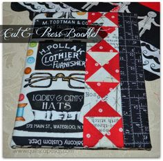 : Snippets ~ Cut & Press Booklet Also has a nice QST tutorial Sewing Blogs, Sewing Crafts, Sewing Projects, Craft Projects, Sewing Kits, Sewing Ideas, Project Ideas, Triangle Square, Scrappy Quilts