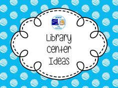 Library Center Ideas Pinterest Board