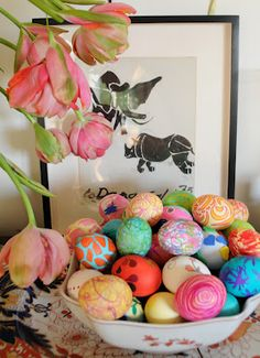 pretty eggs