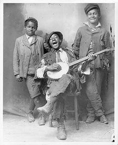 Boys with Banjo by Black History Album, via Flickr