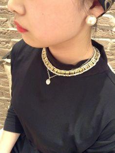 チョーカー→Cath\u0027s accessories(キャシーズ アクセサリーズ) ネックレス→MIZUKI(ミズキ)