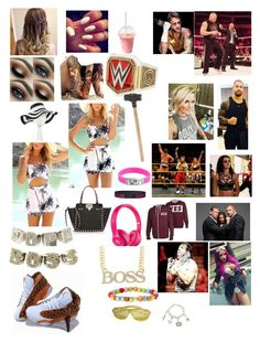 """Kaitlyn backstage with the SQUAD and Stephanie, Vince McMahon and triple H discussing the return of Cm Punk and Brock Lesnar (Paige becomes upset about Brock because of their past)"" by kaitlyngilmore ❤ liked on Polyvore featuring Retrò, Beats by Dr. Dre, Valentino and Target"