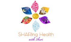 SHARIng Health with Shari logo design: Health Coach (hand painted)