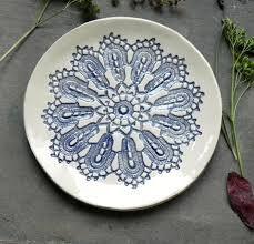 Bildergebnis für rustic ceramic serving platter