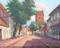 Frederik Wilhelm Svendsen (1885-1975): Village Church