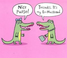 Nice purse. Thanks it's my ex-husband.   #funnypictures, #funnylove, #funnyanimals - Visit http://funny-lover.com for more fun.