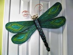 136 best dragonfly and butterfly art using table legs and spindles table leg dragonfly wall art peacock textured by lucydesignsonline 6500 aloadofball Image collections