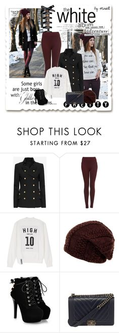 """Love Me"" by miriell ❤ liked on Polyvore featuring Exclusive for Intermix, Topshop, Studio Concrete and Kate Spade"