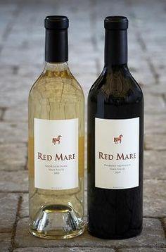 Red Mare Wines...Sauvignon Blanc! www.RedMareWines.com wine vinos maximum vinho mxm