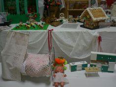 il reparto dove i bambini potevano giocare.