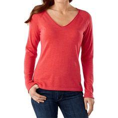 SmartWool Granite Falls Sweater - Merino Wool, V-Neck, Long Sleeve (For Women))