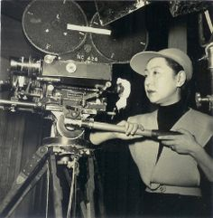Kinuyo Tanaka, a Japanese actress and director.