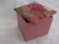 Tuto #2 - Atelier Cartonnage : boîte avec couvercle