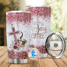 Road Trippers, The Cross Of Christ, Plastic Tumblers, Insulated Tumblers, Sweet Tea, Tumbler Cups, Cold Drinks, Stainless Steel, Pure Products
