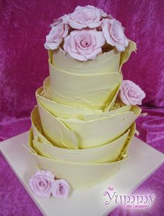 White Chocolate Layer Cake by Yummy Cake Company