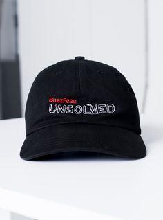 f809a82b Buzzfeed Unsolved Hat for Daysi Youtuber Merch, Youtubers, Dad Hats,  Christmas Birthday,