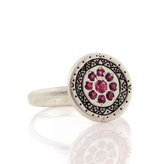 Memories Ring: Adel Chefridi: Silver & Stone Ring | Artful Home