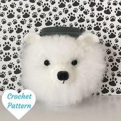 Crochet Dog Pattern - Pomeranian Crochet Pattern - Crochet Pattern Dog - Amigurumi Patterns - Amigurumi Pattern - Amigurumi Dog Pattern by HookedbyAngel
