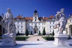 Valtice Castle Moravia Czech Republic