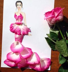 Zebra Art: Creative Fashion design Illustration by Armenian artist Edgar Arte Zebra, Zebra Art, Arte Floral, Arte Fashion, High Fashion, Illustration Blume, Deco Originale, Funny Drawings, Pencil Drawings