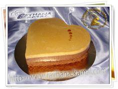 Cuisine Rayhana Kamal: Gâteau au chocolat et caramel