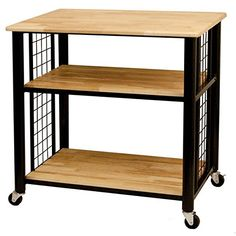 Catskill Craftsman Wood 3shelf Kitchen Cart * You can get more details by clicking on the image.Note:It is affiliate link to Amazon.