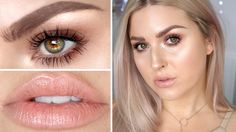A 'natural' makeup look inspired by the Nontouring trend! LOADS of highlighter! So excited to work with Sephora on this makeup tutorial xo - FULL COVERAGE FI...