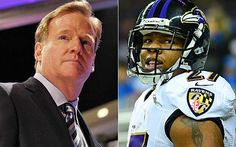 Goodell fails brutally with two-game suspension for scary Ray Rice