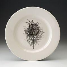 Laura Zindel Design - Dinner Plate: Nigella, $50.00 (http://www.laurazindel.com/dinner-plate-nigella/)