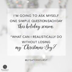 Holidays,Christmas,Lysa Terkeurst ...