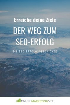 �Bei mir funktioniert SEO einfach nicht!� Genau das sagte mir mein neuer Leser Phillip vor gut fünf Monaten. Inspirations Boards, Pinterest Profile, Data Analytics, Online Marketing, Entrepreneur, Social Media, Simple, Entrepreneurship, Search Engine Optimization