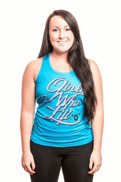 GLP Girls Who Lift Performance Tank #ConfidenceFromWithin GLPfitness.com