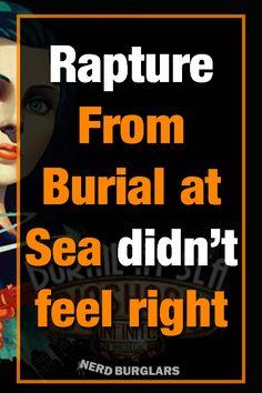 Bioshock Burial At Sea Was Not Rapture - Nerdburglars Gaming Bioshock Game, Bioshock Infinite, It Hurts Me, Going Crazy, Little Sisters, Get Over It, Really Cool Stuff, Gaming, Fan