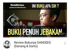 Video review buku tulisan Danang dan Darto judulnya #IniBukuDandees!  Apakah buku ini layak dibeli? Apakah selucu pas mereka ngeHost di The Comment Net TV? :)) Link di Bio. Atau di http://youtube.com/WisnuKumoro  #Youtube #youtubersindonesia #vlog #vlogger #dagelan #thecomment #danang #darto #imamdarto #nettv #dandees #prambors #reviewbuku #bookreview #booktube #booktuberindonesia