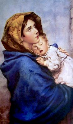Jesus And Mary Pictures, Mary And Jesus, Catholic Art, Religious Art, Jesus Art, Blessed Mother Mary, Madonna And Child, All Nature, Human Art