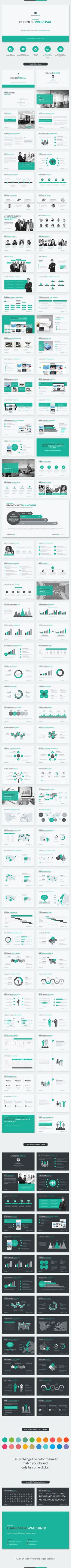 Pueden cambiarse los colores Business Proposal Google Slides Template - Google Slides Presentation Templates
