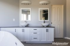 Quality Built www.ridgewater.ca Double Vanity, Bathroom, Building, Washroom, Bathrooms, Buildings, Bath, Construction, Architectural Engineering