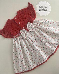 Knitted Baby Clothes, Crochet Baby Hats, Crochet For Kids, Baby Knitting, Knit Crochet, Little Girl Dresses, Girls Dresses, Birthday Gifts For Girls, Diy For Girls
