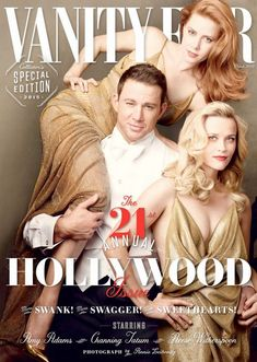 Cover - Best Cover Magazine  - Part of its 21st annual Hollywood issue, Vanity Fair has enlisted top stars incl...   Best Cover Magazine :     – Picture :     – Description  Part of its 21st annual Hollywood issue, Vanity Fair has enlisted top stars including Amy Adams, Channing Tatum and Reese Witherspoon to appear on the front cover. Photographed by Annie Leibovitz, the cover also includes...