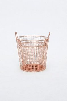 Shop Copper Laundry Basket Set at Urban Outfitters today. Gold Bathroom Accessories, Decorative Accessories, Home Accessories, Rose Gold Room Decor, Rose Gold Rooms, Urban Outfitters, Copper And Pink, Copper Bathroom, Ideal Bathrooms