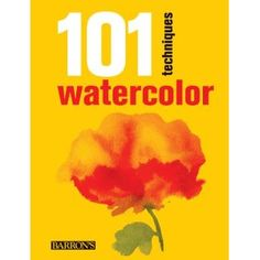 aAn eminently practical work that describes 101 essential techniques of watercolor painting, from beginner's level to advanced, all of them presented through step by step exercises. A reference work with all the artist needs to know to work in waterc. Watercolour Tutorials, Watercolor Techniques, Painting Techniques, Illustrator Tutorials, Art Tutorials, Guache, Learn Art, Watercolor Drawing, Pictures To Draw