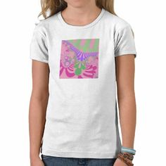 Customizable Girl Power Mod Girl's Baby Doll Fitted T-Shirt going for $19.95.