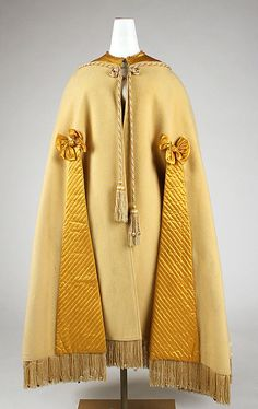 Cape | United States or Europe, 1850-1869 | Material: wool | The Metropolitan Museum of Art, New York